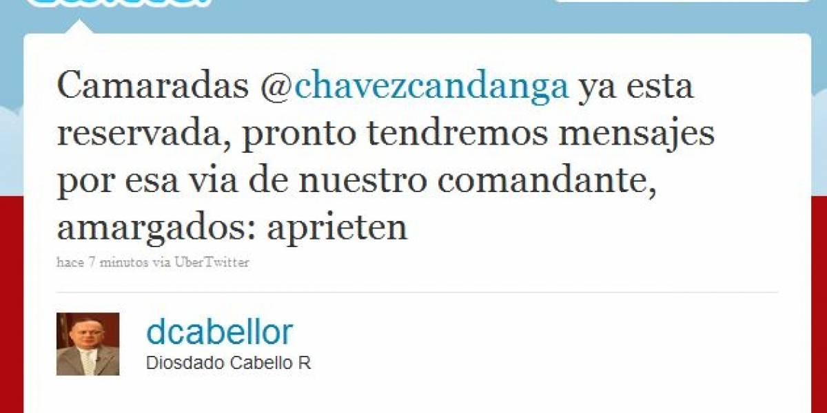 Presidente venezolano abrió una cuenta en Twitter (Actualizado)