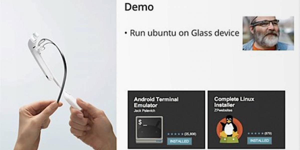 Sí, Google Glass puede correr Linux #IO13
