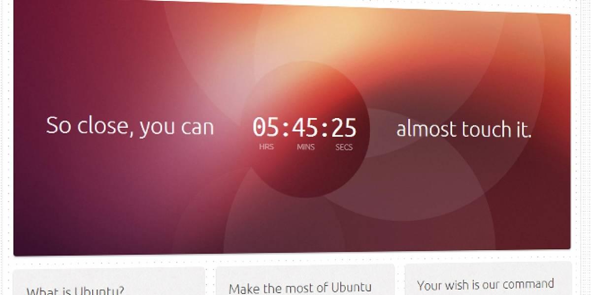 ¿Estamos a unas horas de conocer la versión para pantallas táctiles de Ubuntu?