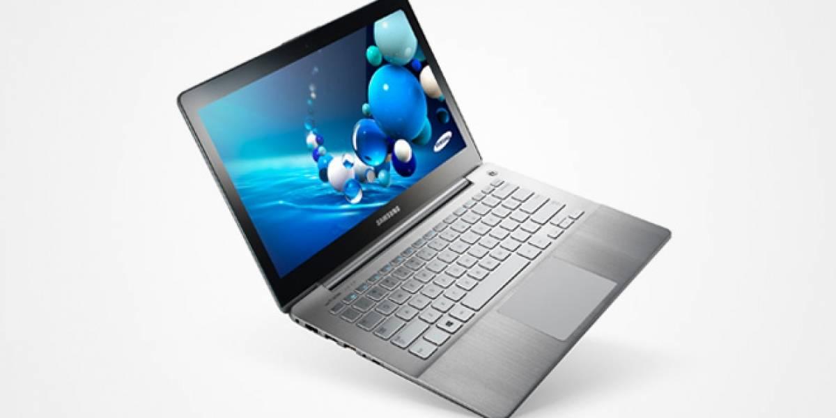 Samsung lanza dos nuevos Serie 7 con pantalla táctil y Windows 8