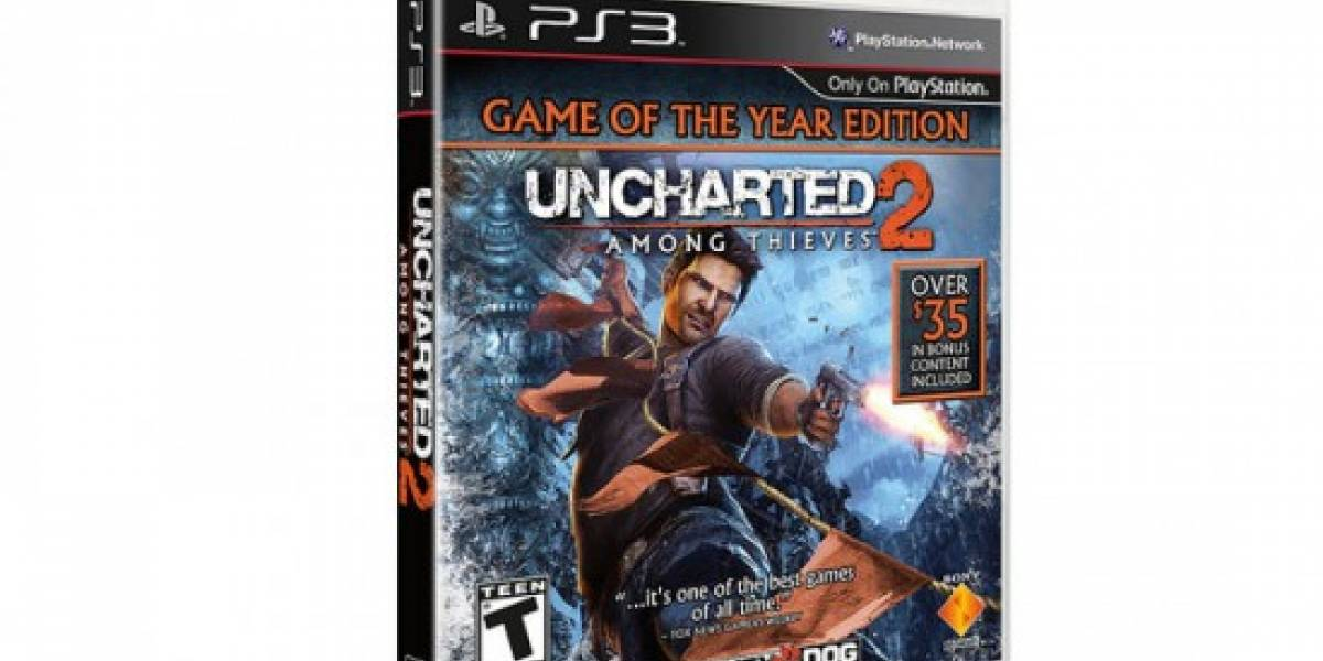 Sony revela la edición Game of the Year de Uncharted 2