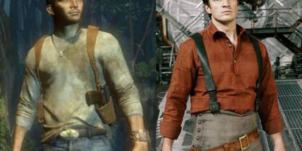 Nathan Fillion quiere ser el protagonista de Uncharted