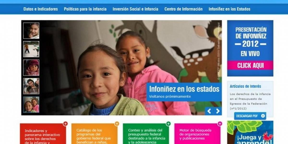 México: Unicef brinda mayor acceso a información vía web