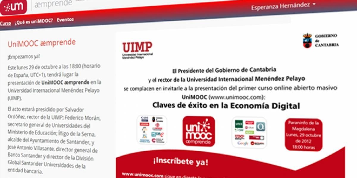 Hoy arranca #UniMOOC emprende: Un curso gratis y online de emprendimiento en Internet