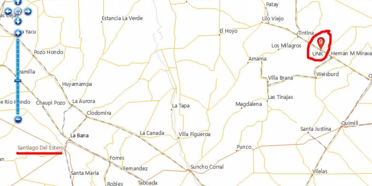 Map World, la competencia china de Google Maps, está lleno de errores