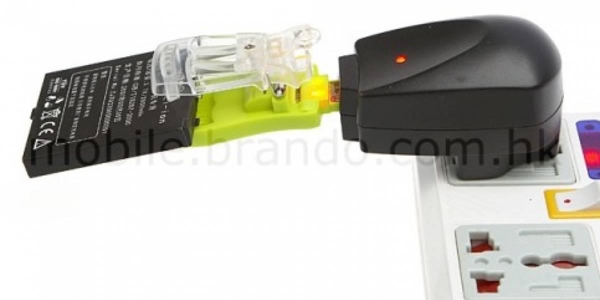 Mini cargador de baterías para móviles