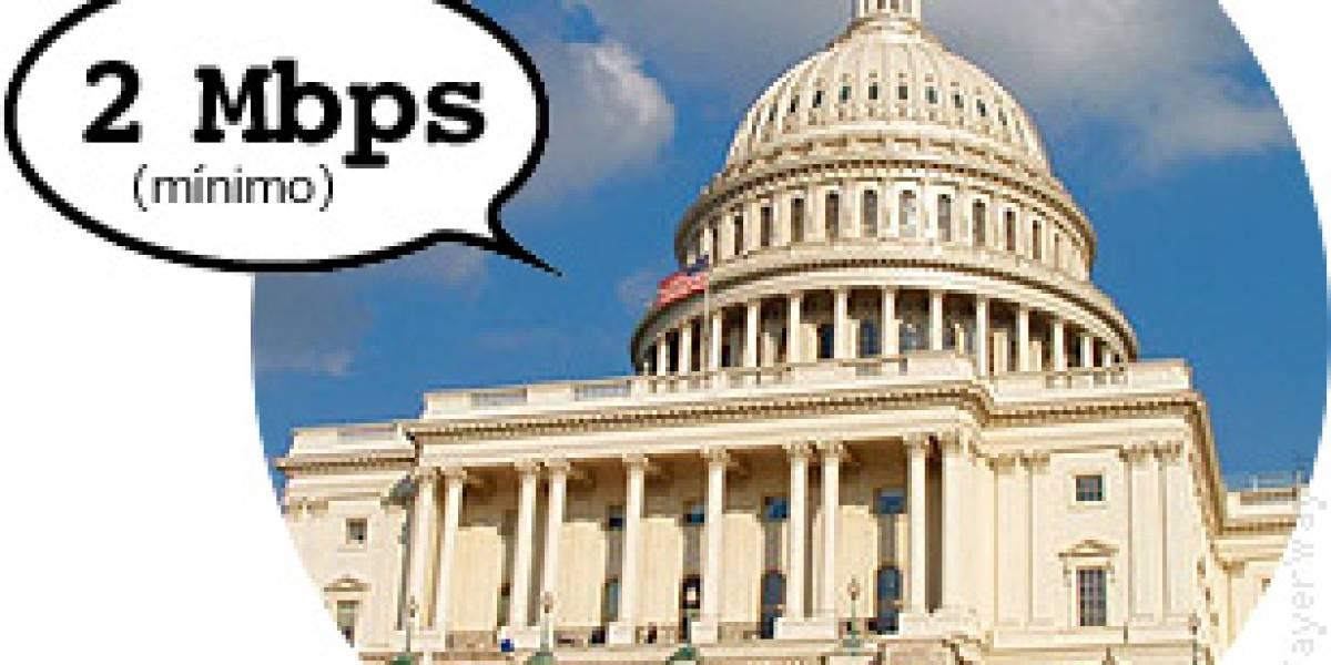 Diputados de EEUU: Banda ancha no es banda ancha si es menos de 2 Mbps