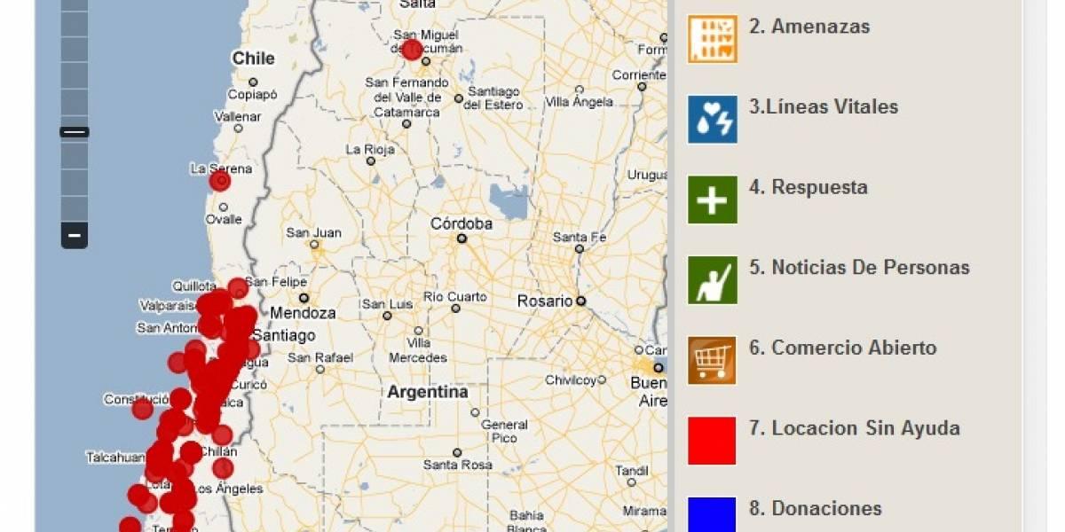 Ushahidi: Kenia ayuda a Chile usando internet