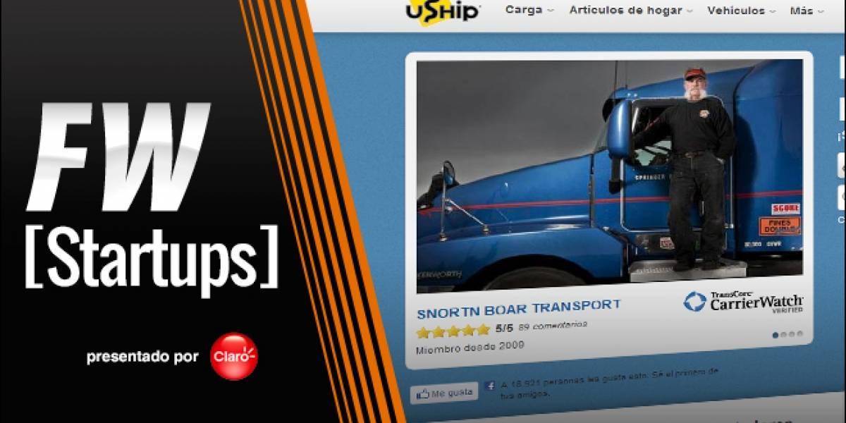 uShip facilita la contratación de servicios de transporte de cargas [FW Startups]