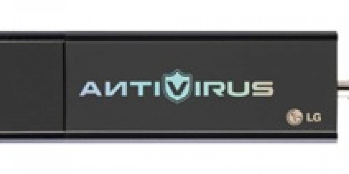LG Vaccine: Llave USB con antivirus incorporado