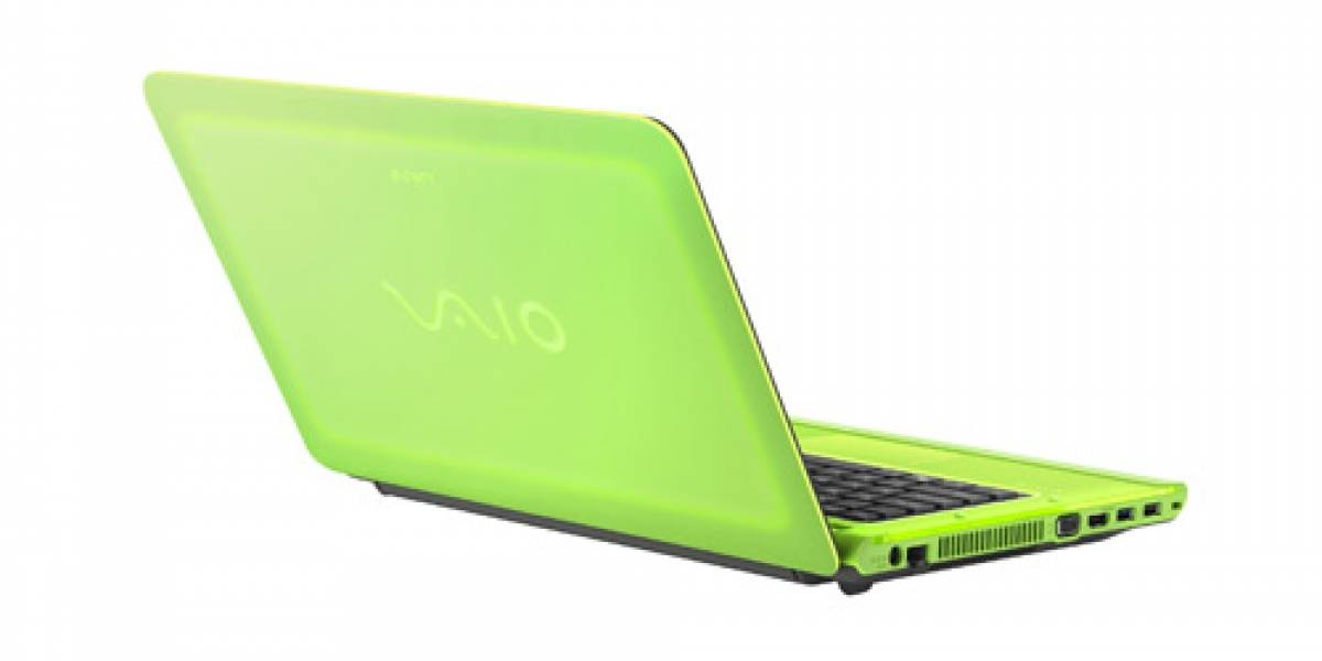 Sony actualiza sus Vaio con Sandy Bridge y colores fluorescentes
