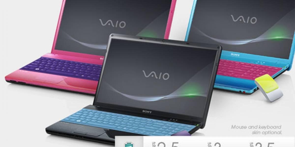 Dos nuevos modelos para la serie de laptops Sony VAIO E