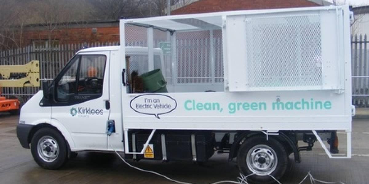 Camión de basura ocupa energía de sus desechos