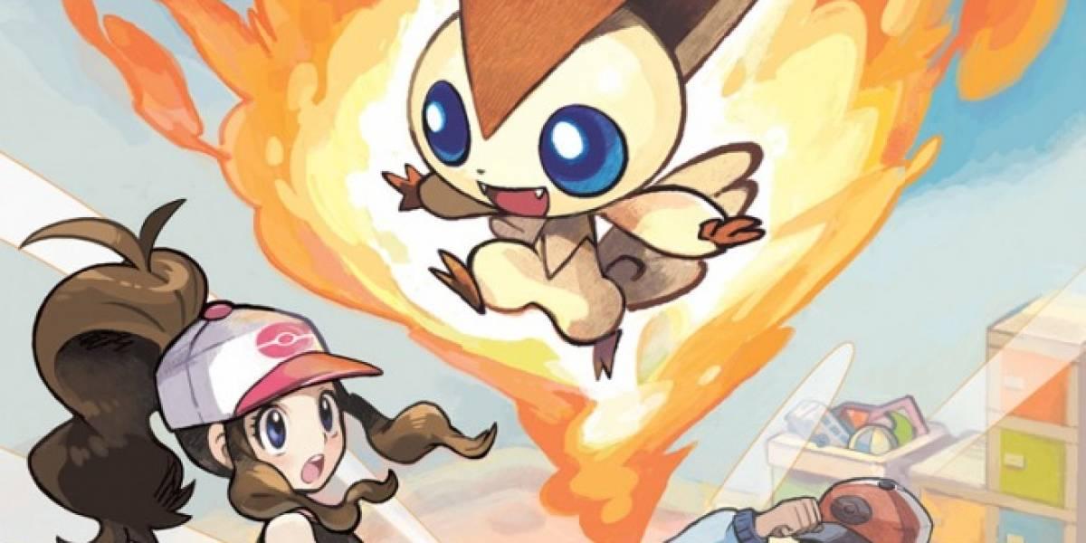 Nintendo te da el Pokemon legendario Victini en lanzamiento