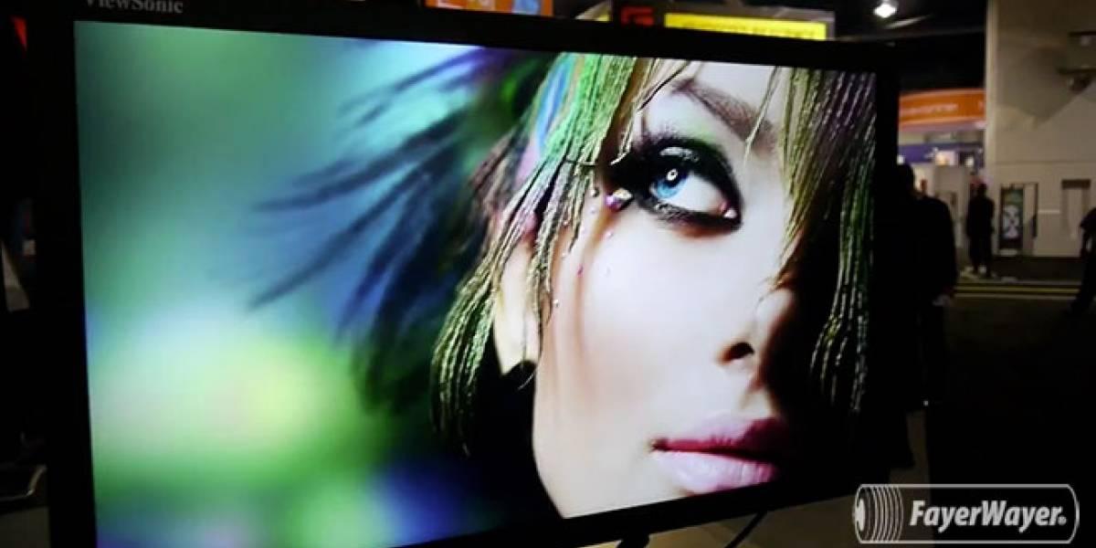CES 2013: ViewSonic nos muestra su monitor de 32 pulgadas y 4K de resolución