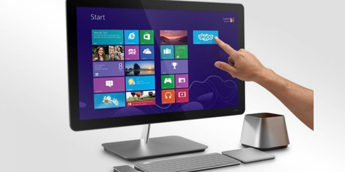 Vizio presenta nuevas computadoras con pantalla táctil para Windows 8
