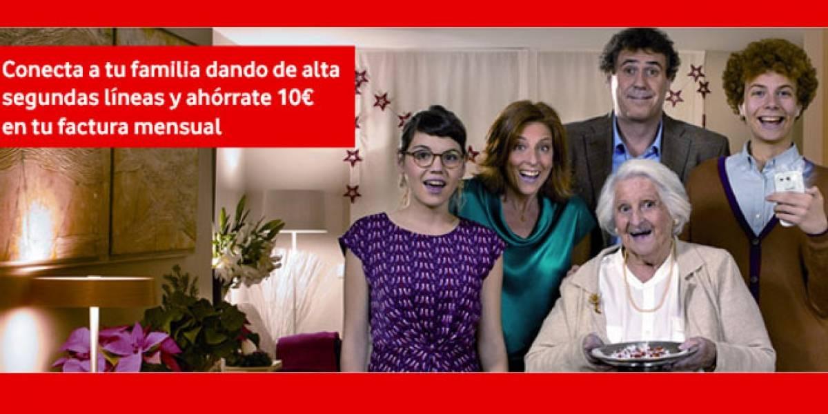 Vodafone RED estrena oferta de segundas líneas para los miembros de la familia