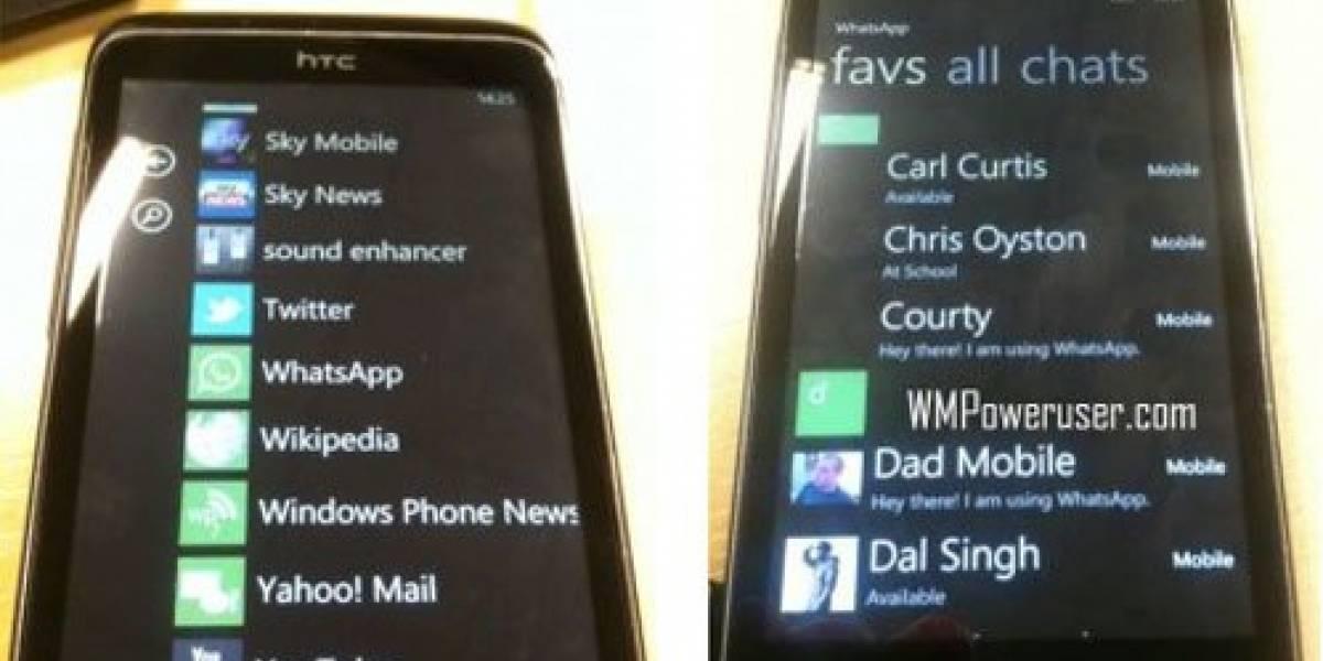 Primeras imágenes de WhatsApp para Windows Phone 7