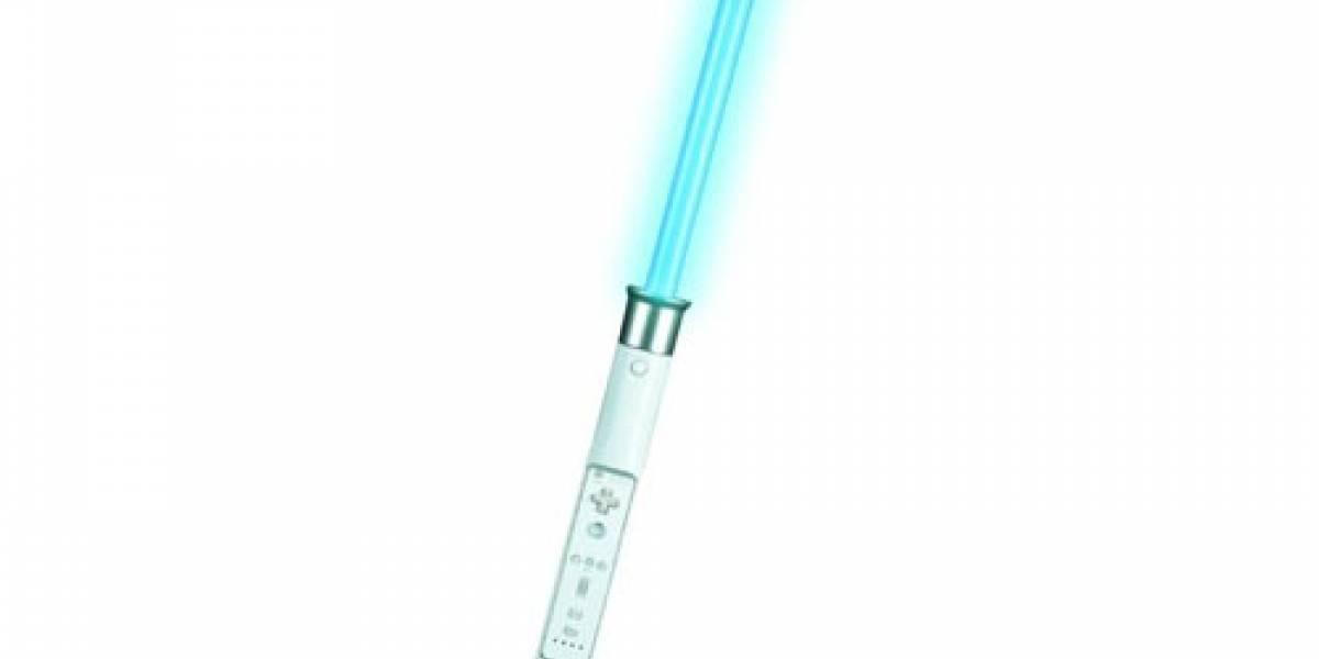 Lo prometido: Sable láser en tu Wii (actualizado)