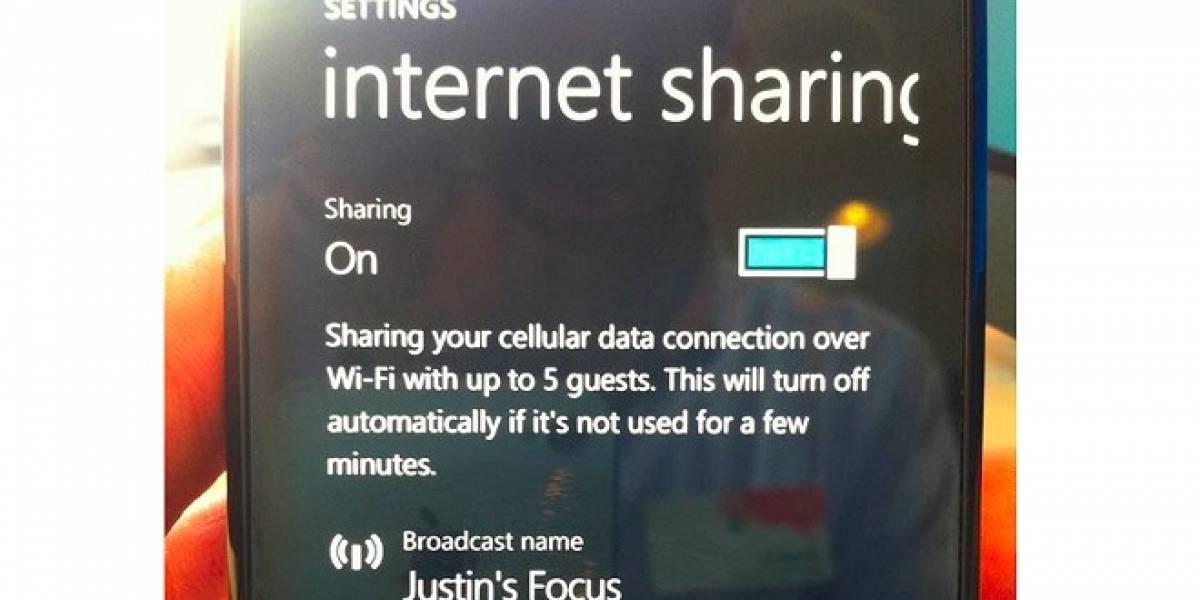 Windows Phone 7.5 Mango tendrá la opción Hotspot Wi-Fi