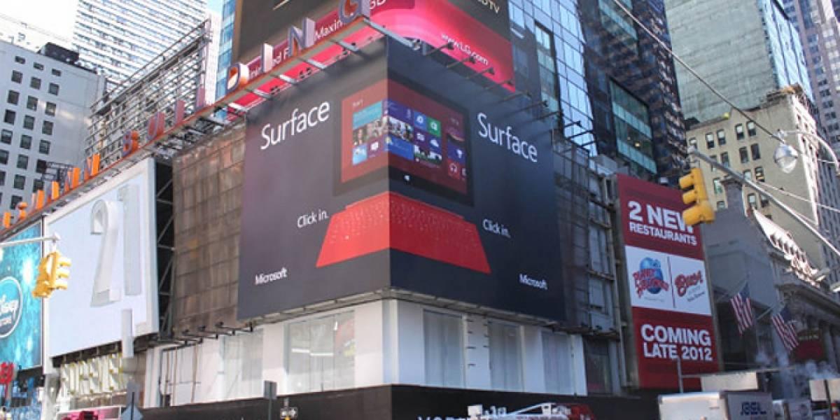 La enorme campaña publicitaria para Windows 8 comienza hoy