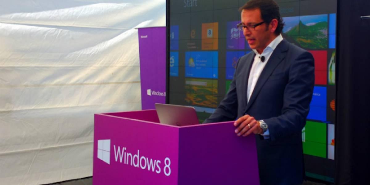 México: 7.1 millones de computadoras con Windows 8 llegarán en los próximos meses