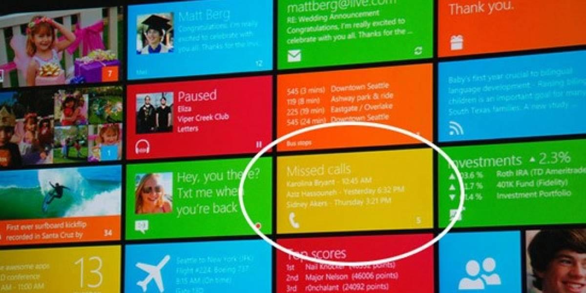 ¿Llamadas telefónicas en Windows 8?