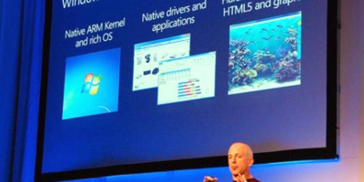 Microsoft acelera el desarrollo de Windows 8 para plataformas ARM