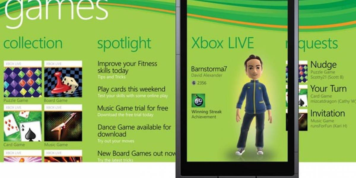 Cambios en el Games Hub de Windows Phone para el Mango