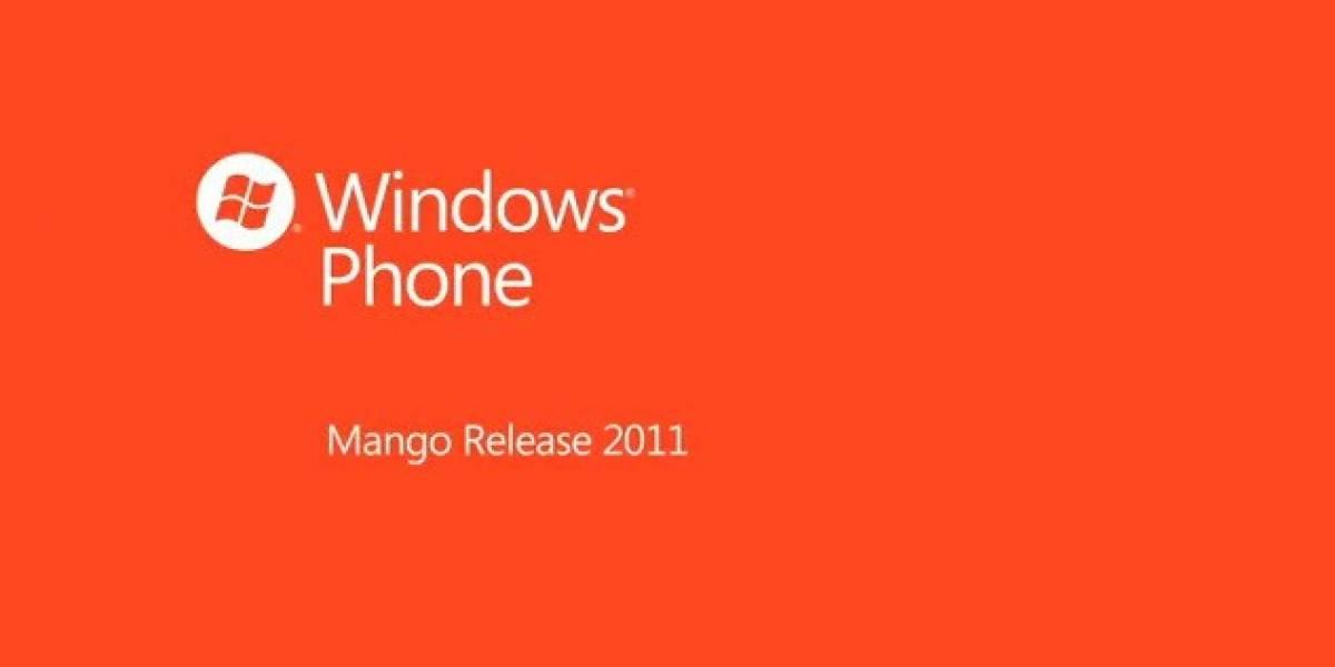 Microsoft ya entregó Mango a los fabricantes de Windows Phone