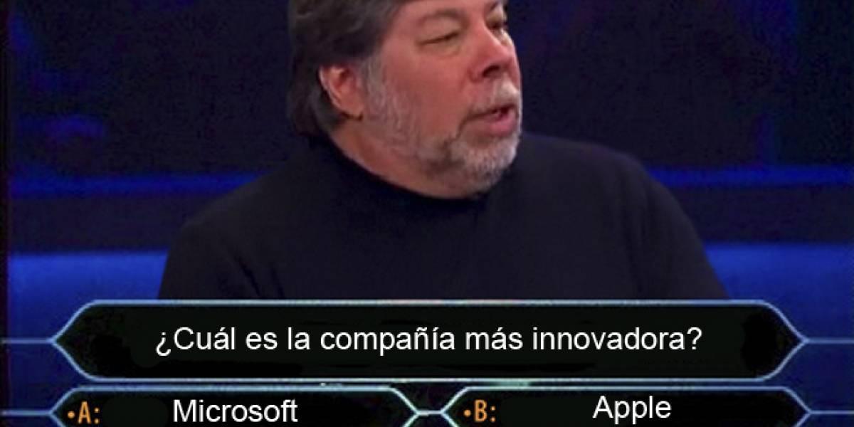 Según Steve Wozniak, Microsoft es más innovador que Apple (por ahora)