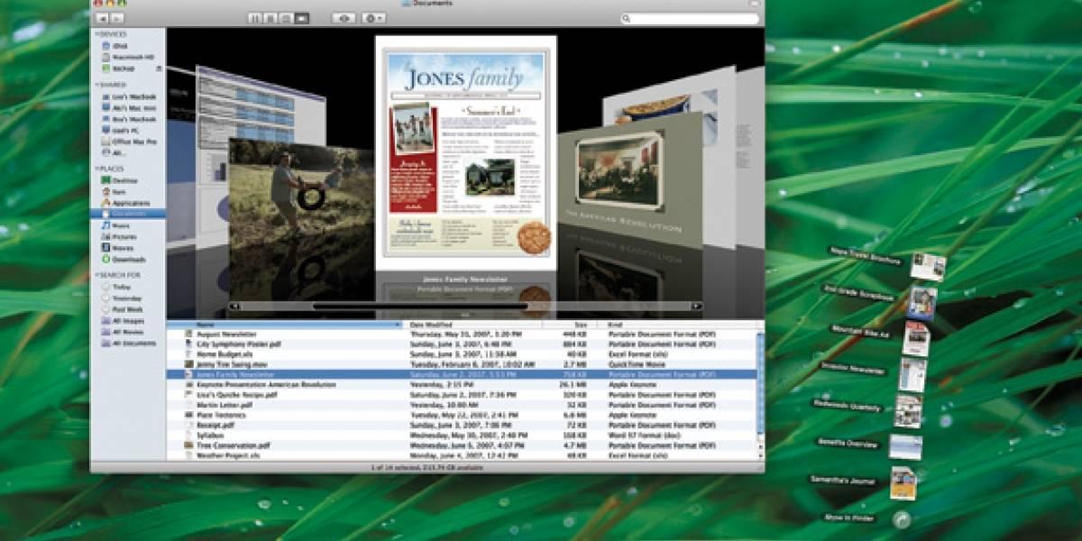 WWDC 07: Versión final de Mac OS X Leopard