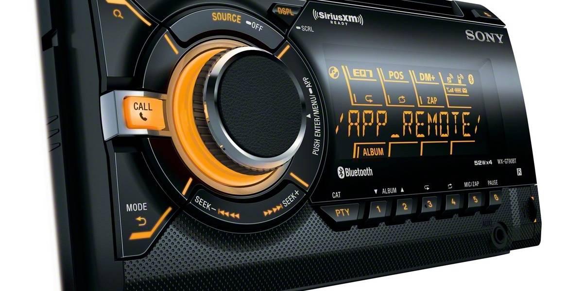 Nuevo receptor de CD Sony tiene conectividad para smartphones