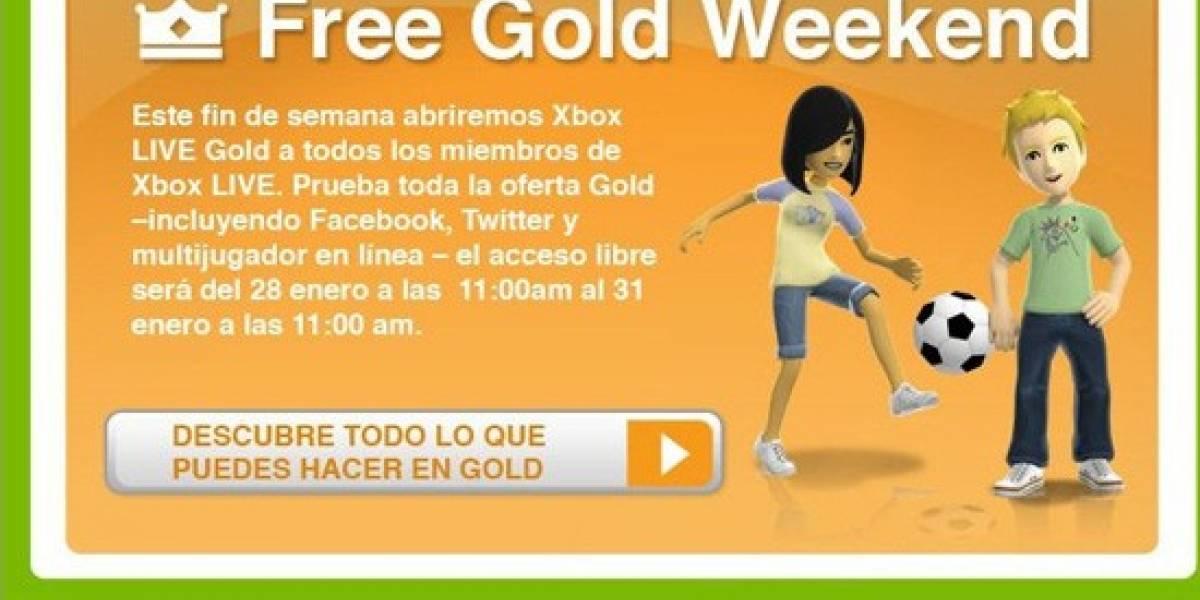 Hoy arranca el fin de semana de Xbox Live Gold gratis