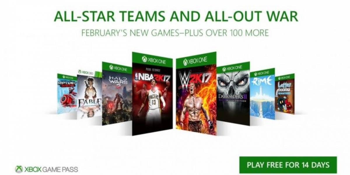 Xbox Game Pass agregará Halo Wars 2, Fable Anniversary, Darskiders II y más