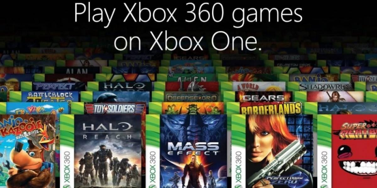 Estos son todos los juegos retrocompatibles con Xbox One