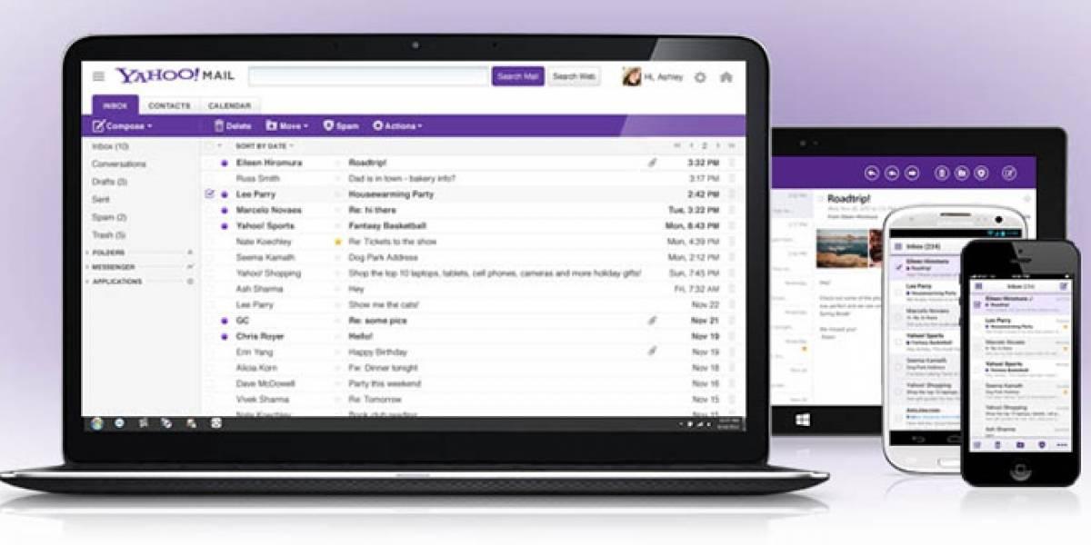 Yahoo lanza nuevo cliente de correo en múltiples plataformas