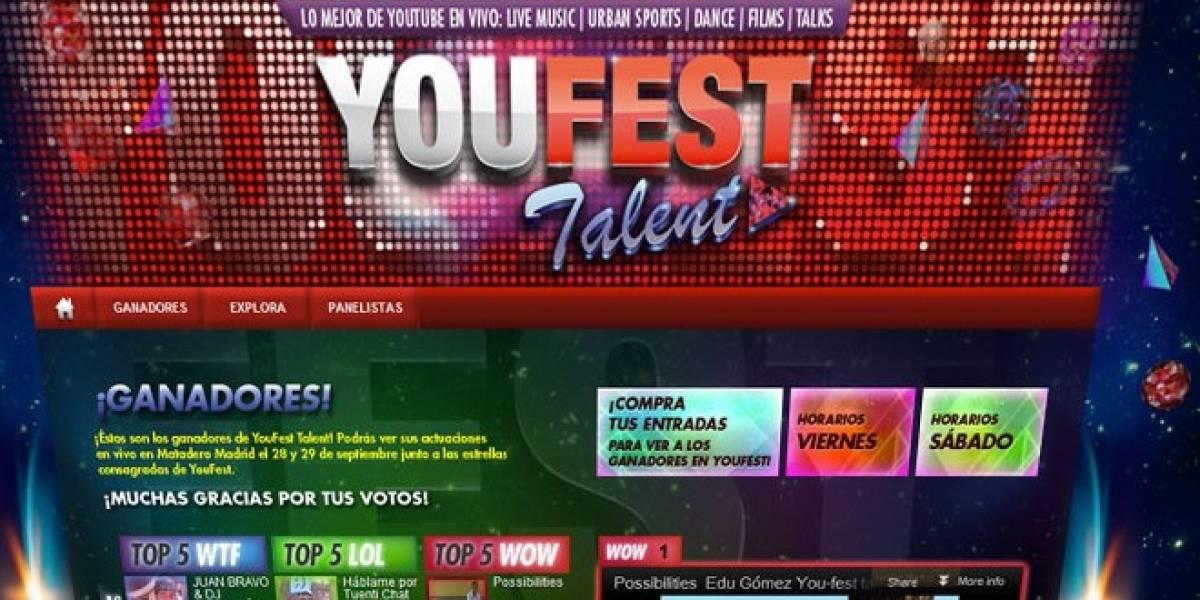 YouFest 2012: Las estrellas de YouTube toman Madrid este fin de semana
