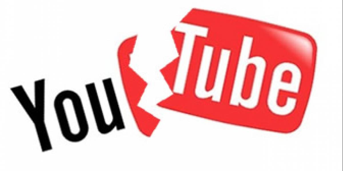 YouTube está fuera de servicio (Actualización: ya volvió)