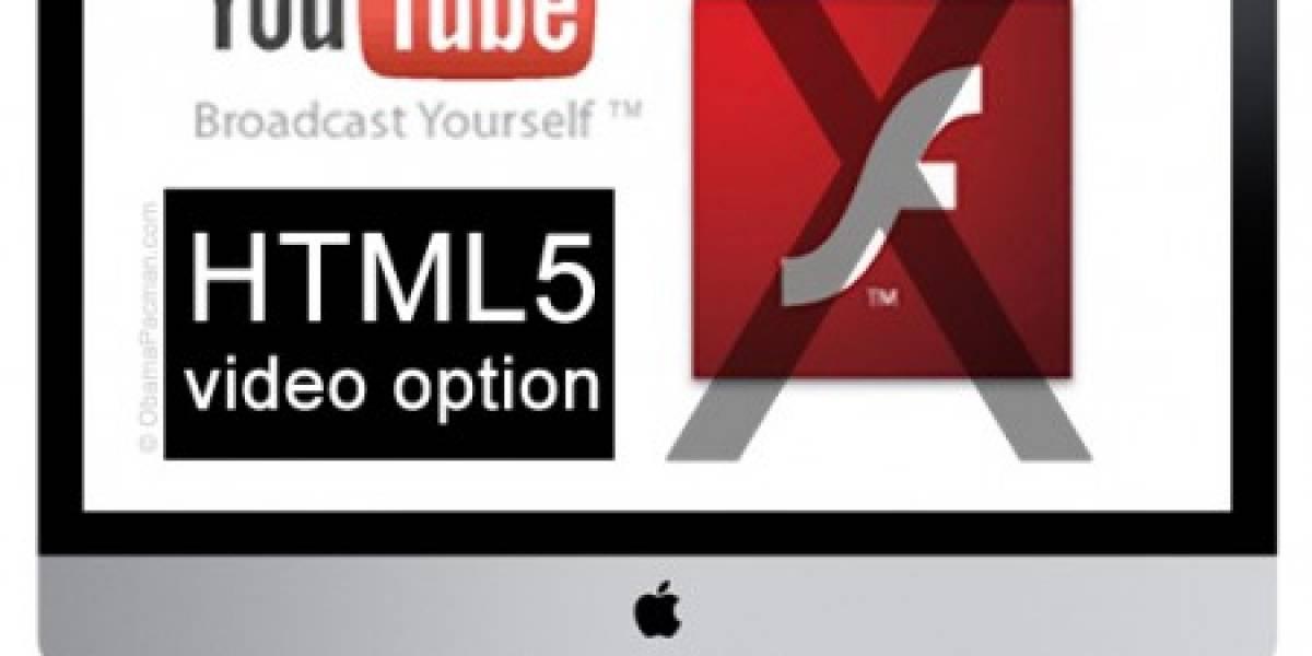 HTML5 y Flash pueden trabajar juntos