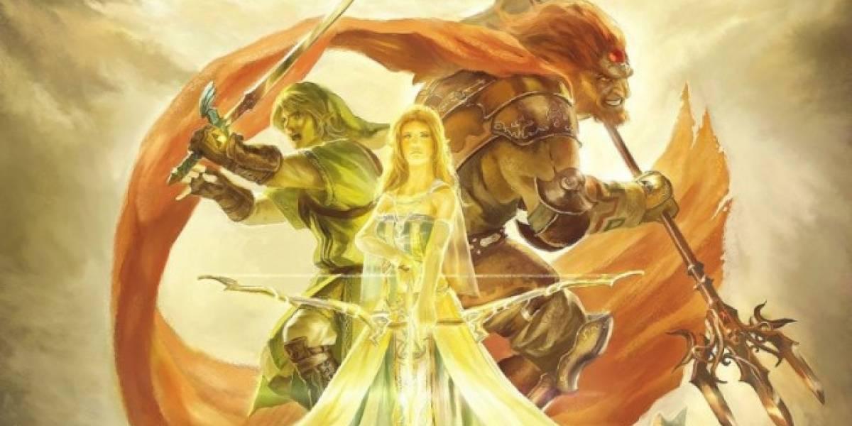Impresionante pintura de The Legend of Zelda