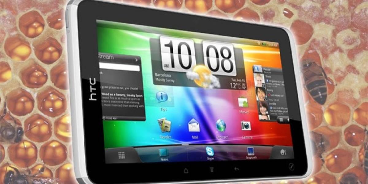 Actualización no oficial de Android Honeycomb para la HTC Flyer