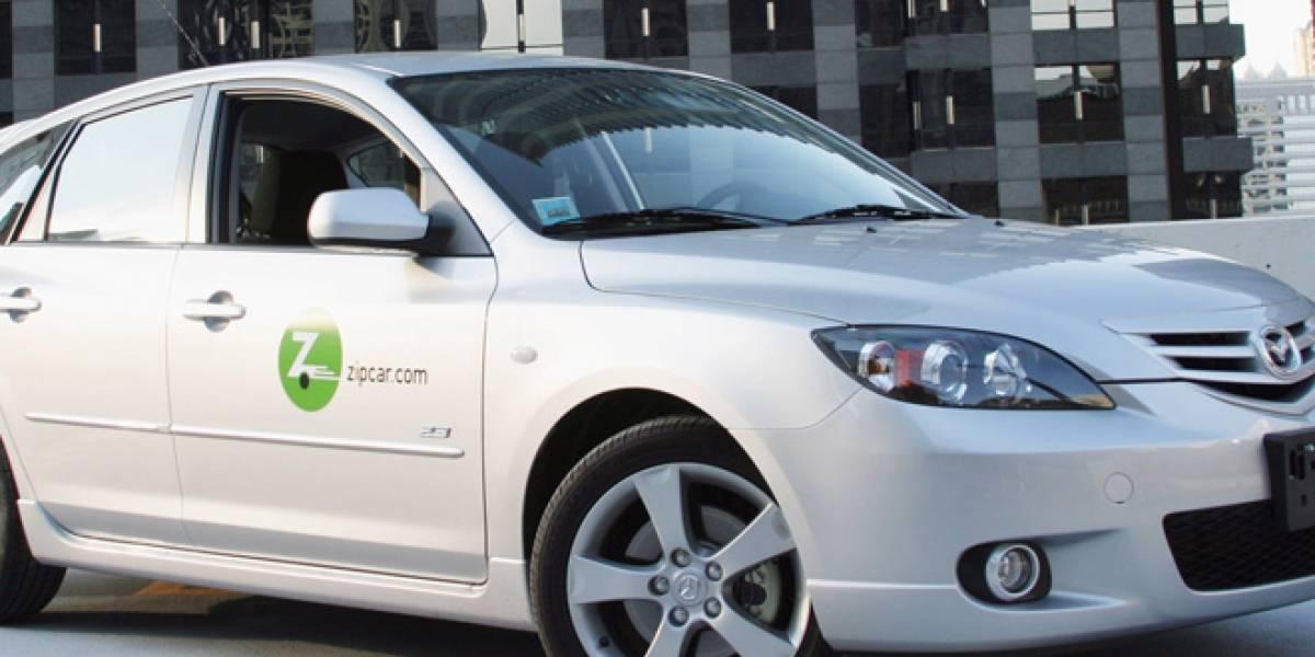 Empresa de arriendo de vehículos Avis compra Zipcar, un servicio para compartir autos