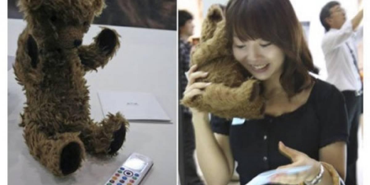Kuma Phone: El oso de peluche celular de Willcom