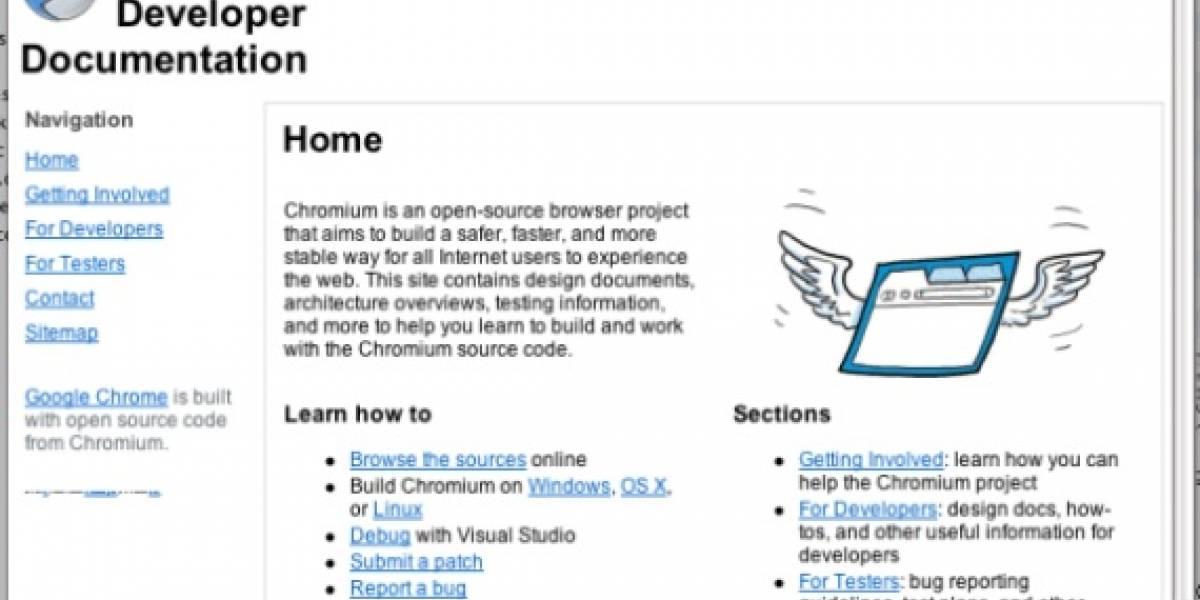 Primeras capturas de Google Chrome para OS X