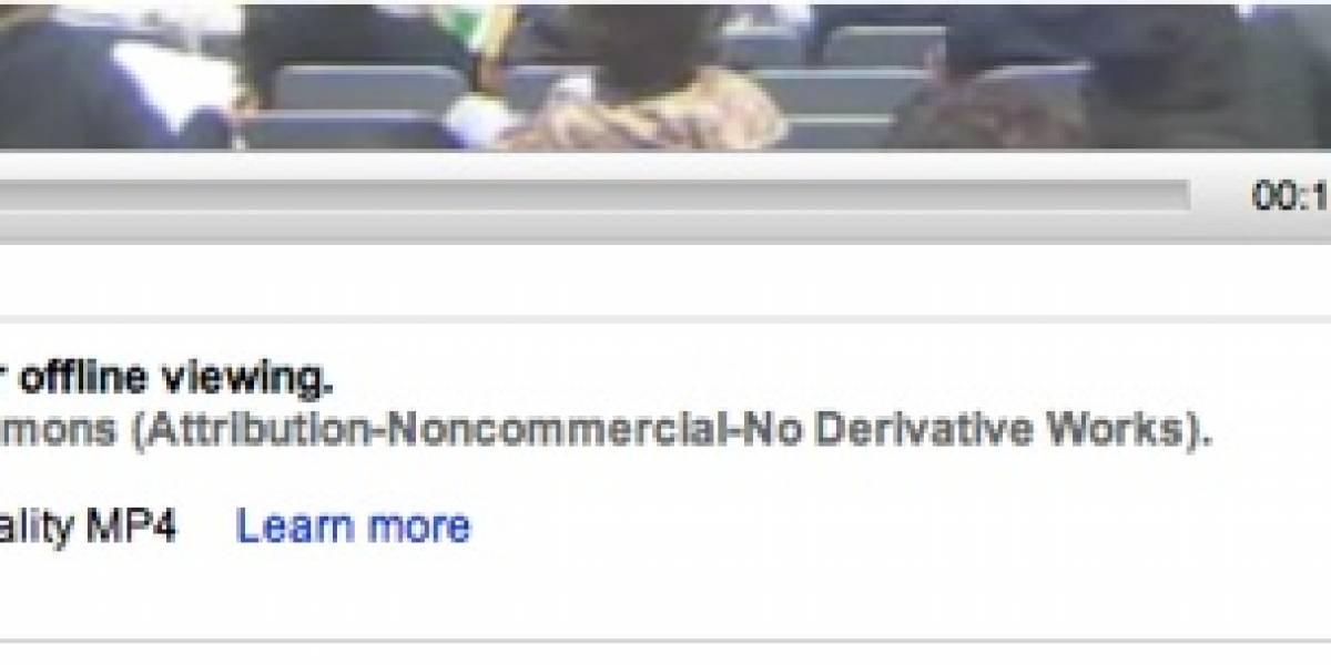YouTube da la opción de descargar algunos videos a tu PC