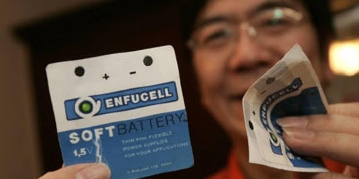 SoftBattery: Batería delgada como papel