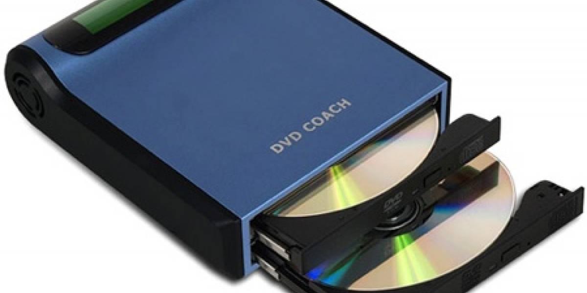DVD Coach: Duplicador de DVD/CD portátil