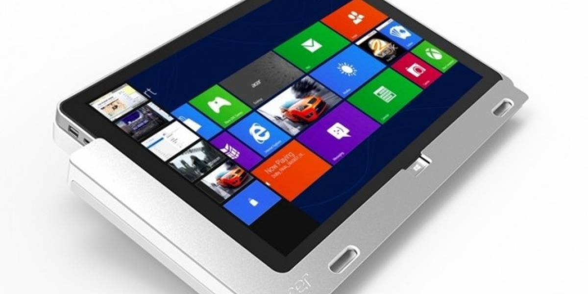 Este mes sale la Acer Iconia W700 con Windows 8