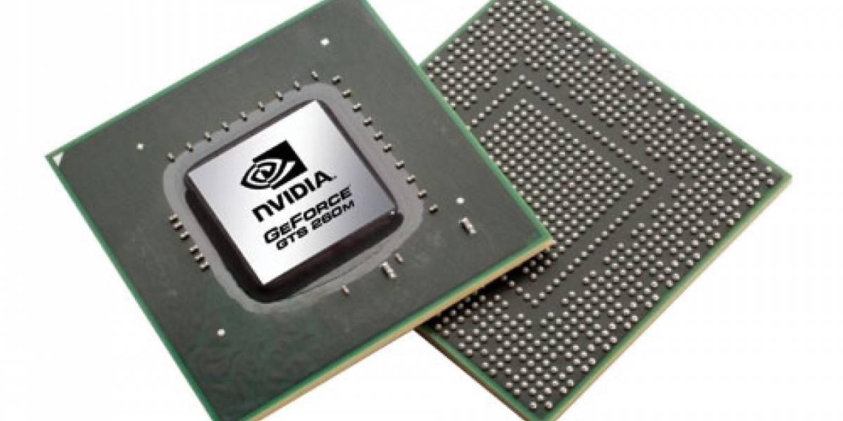 NVIDIA presenta cinco nuevas GPUs móviles